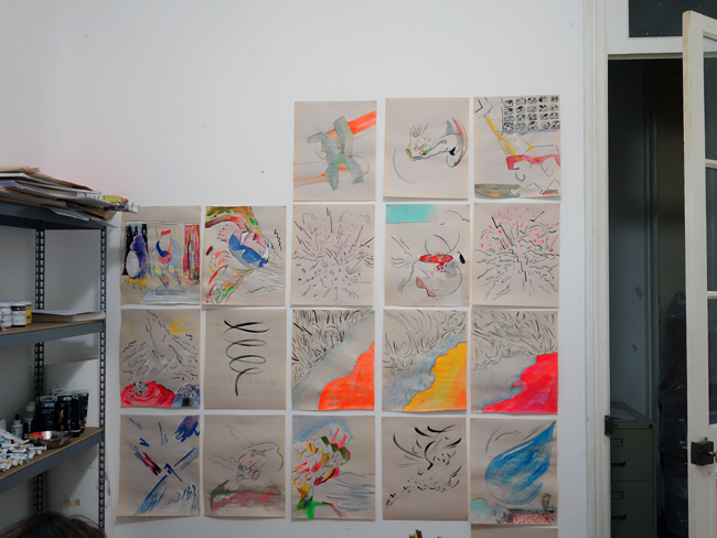 Drawings' selection from 2015